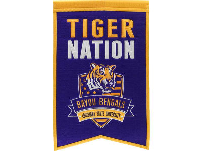LSU Tigers Winning Streak Nations Banner