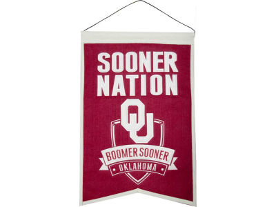 Oklahoma Sooners Nations Banner