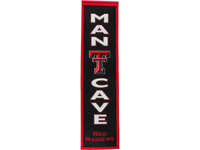 Texas Tech Red Raiders Man Cave Banner