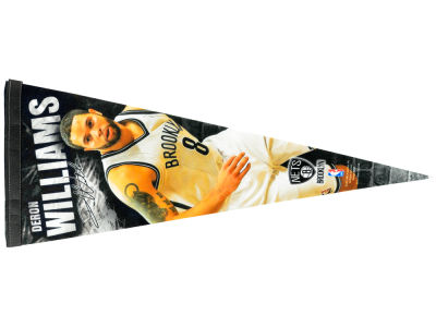 Brooklyn Nets Deron Williams 12x30 Premium Player Pennant