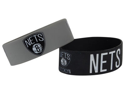 Brooklyn Nets 2-pack Wide Bracelet