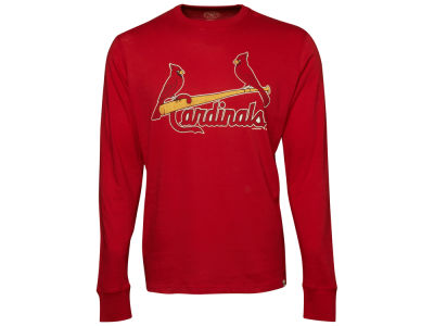 St. Louis Cardinals '47 MLB Men's Long Sleeve Flanker T-Shirt