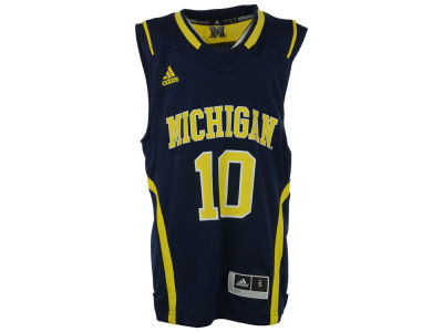 Michigan Wolverines #10 NCAA Youth Replica Basketball Jersey