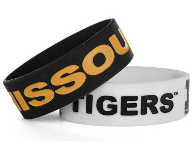 Missouri Tigers 2-pack Wide Bracelet