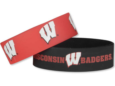 Wisconsin Badgers 2-pack Wide Bracelet