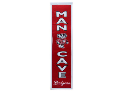 Wisconsin Badgers Man Cave Banner