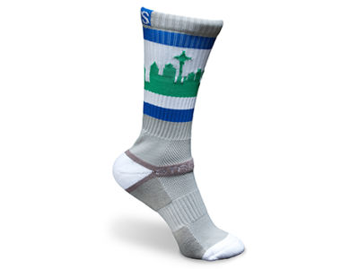 Seattle StrideLine City Socks