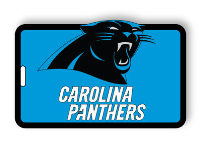 Carolina Panthers Soft Bag Tag