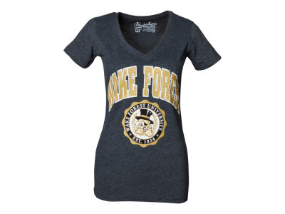 Wake Forest Demon Deacons NCAA Womens Maude Vneck T-Shirt