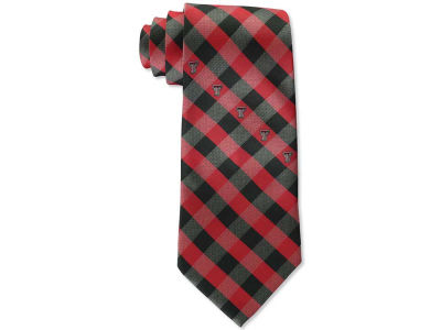 Texas Tech Red Raiders Polyester Checked Tie