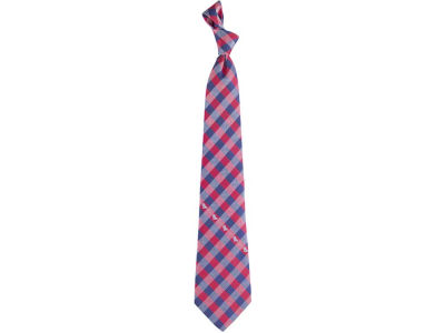 Ole Miss Rebels Polyester Checked Tie