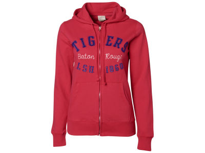LSU Tigers NCAA Ladies Milan Full Zip Hoodie