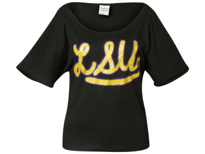 LSU Tigers NCAA Ladies Paris Oversized T-Shirt