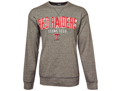 Texas Tech Red Raiders NCAA Owen Long Sleeve Heathered Crew Sweatshirt