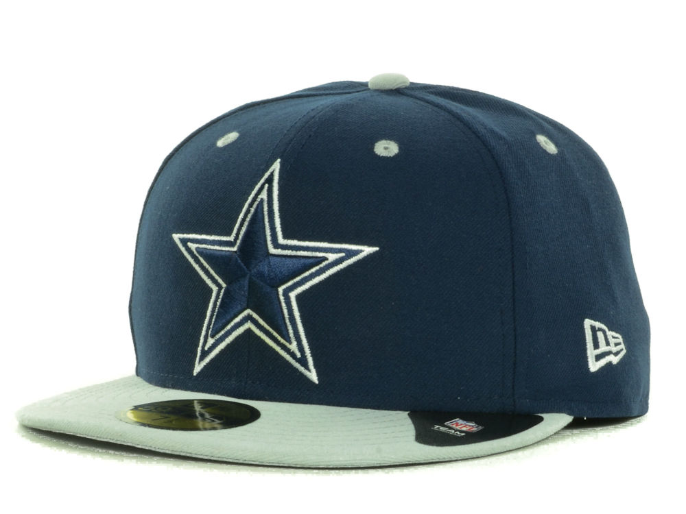 d51128ab5 Dallas Cowboys New Era NFL 2 Tone 59FIFTY Cap