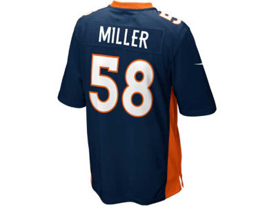 Denver Broncos Von Miller Nike NFL Youth Game Jersey