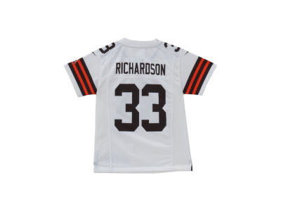 Cleveland Browns Trent Richardson Nike NFL Youth Game Jersey