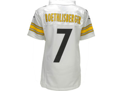 Pittsburgh Steelers Ben Roethlisberger Nike NFL Youth Game Jersey