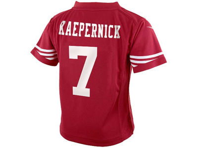 San Francisco 49ers Colin Kaepernick Nike NFL Toddler Game Jersey