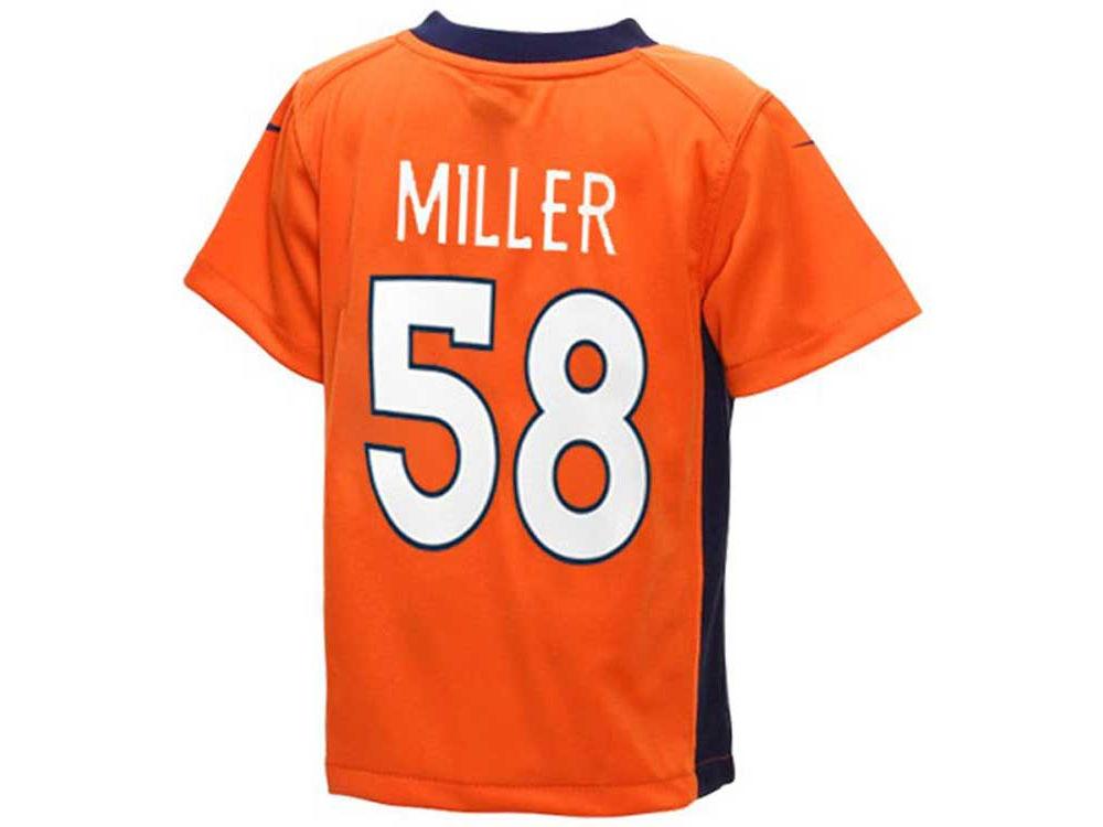 97773c8c Denver Broncos Von Miller Nike NFL Toddler Game Jersey