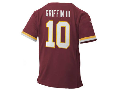 Washington Redskins Robert Griffin III Nike NFL Toddler Game Jersey