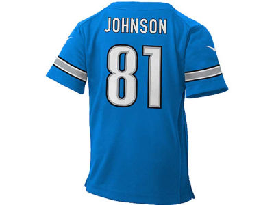 Detroit Lions Calvin Johnson Nike NFL Infant Game Jersey