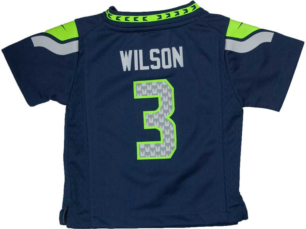 ad6c95df6 Seattle Seahawks Russell Wilson Nike NFL Infant Game Jersey