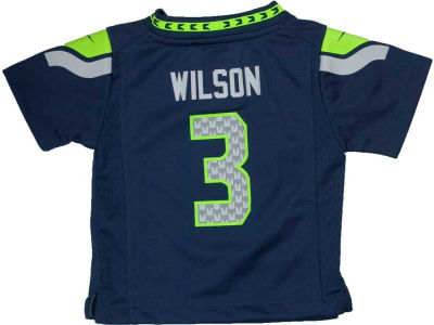 Seattle Seahawks Russell Wilson Nike NFL Infant Game Jersey