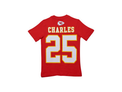 Kansas City Chiefs Jamaal Charles Nike NFL Youth Big Number T-Shirt