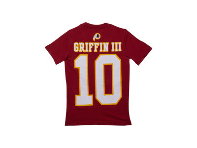 Washington Redskins Robert Griffin III Nike NFL Youth XP Big Number T-Shirt
