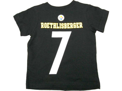 Pittsburgh Steelers Ben Roethlisberger Nike NFL Youth Big Number T-Shirt