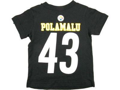 Pittsburgh Steelers Troy Polamalu Nike NFL Youth Big Number T-Shirt