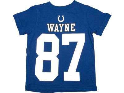 Indianapolis Colts Reggie Wayne Nike NFL Kids Big Number T-Shirt