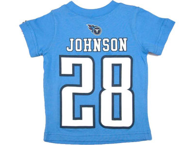 Tennessee Titans Chris Johnson Nike NFL Kids Big Number T-Shirt