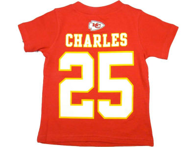 Kansas City Chiefs Jamaal Charles Nike NFL Toddler Big Number T-Shirt