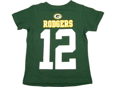 Green Bay Packers Aaron Rodgers Nike NFL Toddler Big Number T-Shirt