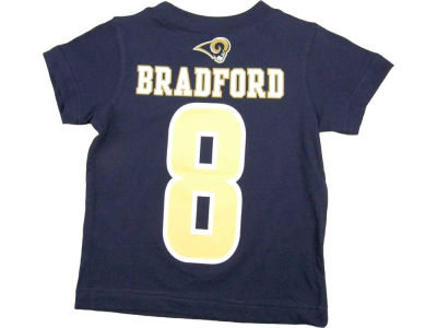 St. Louis Rams Sam Bradford Nike NFL Toddler Name and Number T-Shirt