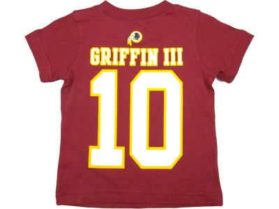 Washington Redskins Robert Griffin III Nike NFL Toddler XP Big Number T-Shirt