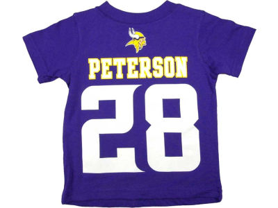 Minnesota Vikings Adrian Peterson Nike NFL Toddler Big Number T-Shirt