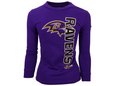 Baltimore Ravens Nike NFL Youth Mirage Long Sleeve T-Shirt
