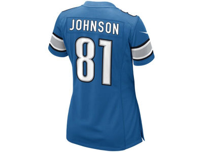 Detroit Lions Calvin Johnson Nike NFL Women's Game Jersey