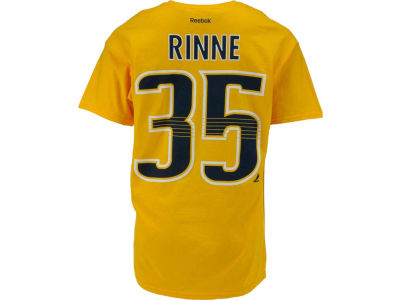 Nashville Predators Pekka Rinne Reebok NHL Men's Player T-Shirt