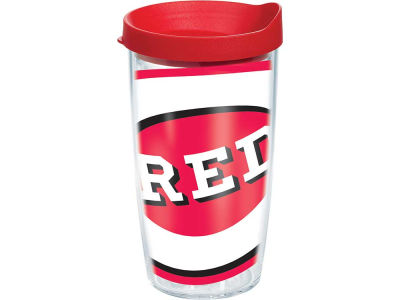 Cincinnati Reds 16oz. Colossal Wrap Tumbler with Lid