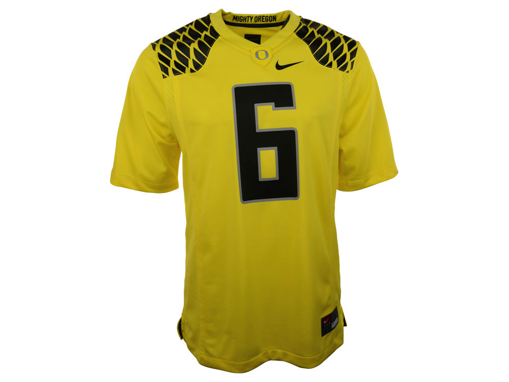 2c42df5fe Oregon Ducks  6 Nike NCAA Replica Football Game Jersey