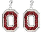 Ohio State Buckeyes Crystal Logo Earrings Apparel & Accessories