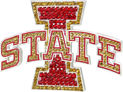 Iowa State Cyclones Crystal Logo Pin