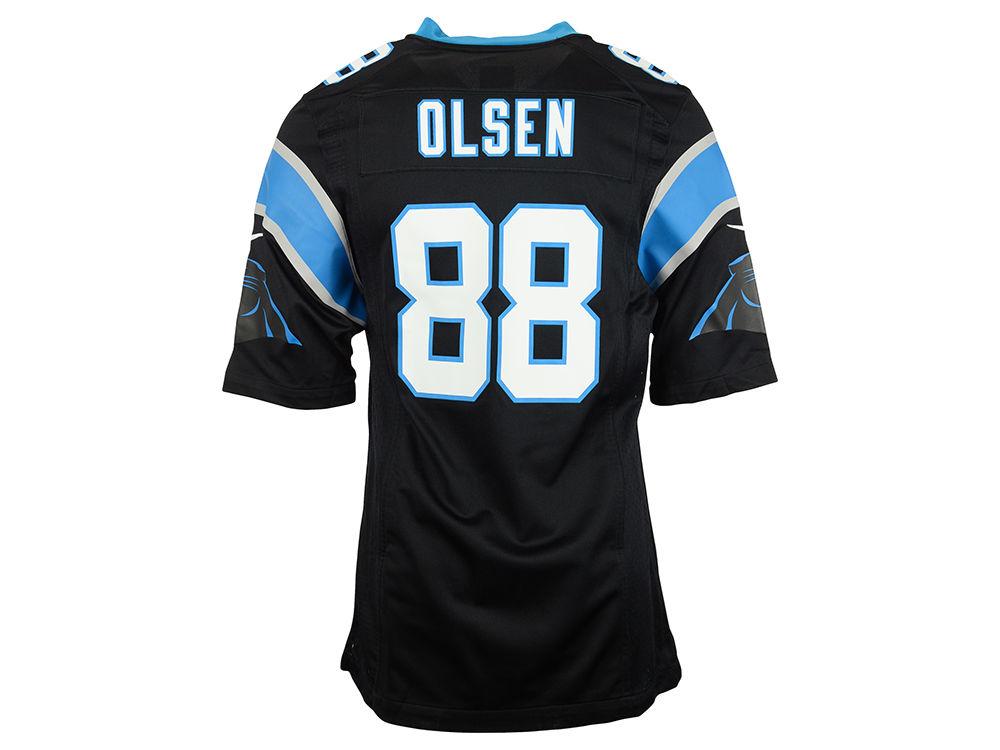 Carolina Panthers Greg Olsen Nike NFL Men s Game Jersey  25ac824b3