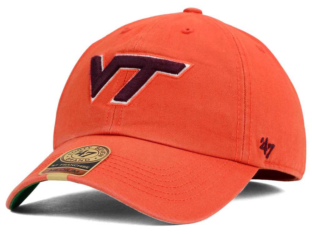 8a6633575d56f ... low cost virginia tech hokies 47 ncaa 47 franchise cap lids 41f2a 09457