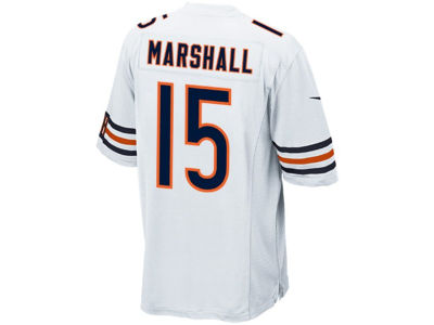 Chicago Bears Brandon Marshall Nike NFL Men's Game Jersey