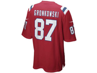New England Patriots Rob Gronkowski Nike NFL Men's Game Jersey